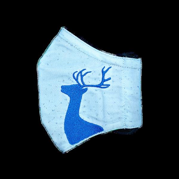 FAUNA / REINDEER (LIGHT BLUE/ BLUE)