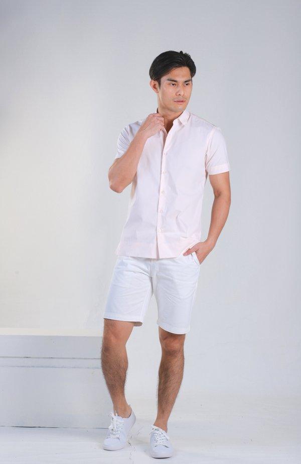 Jacobo Pink Stripe Shirt