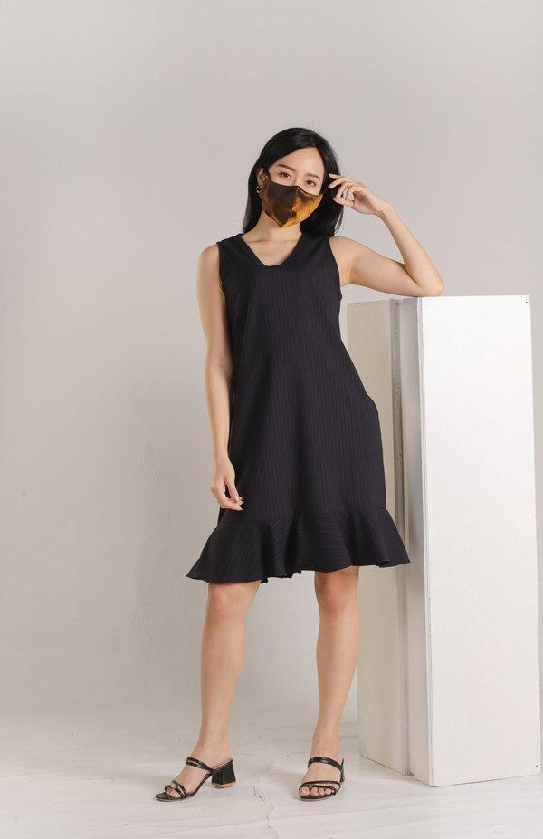 Amelia Sleeveless Ruffle Dress