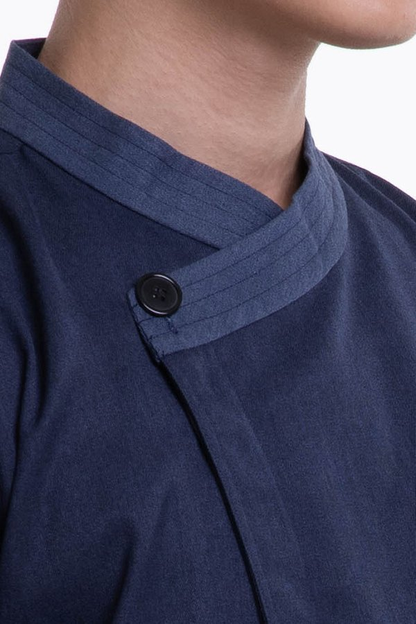 Long Sleeve Chef Jacket With Stitching on Collar and Cuffs (FHE-1855)