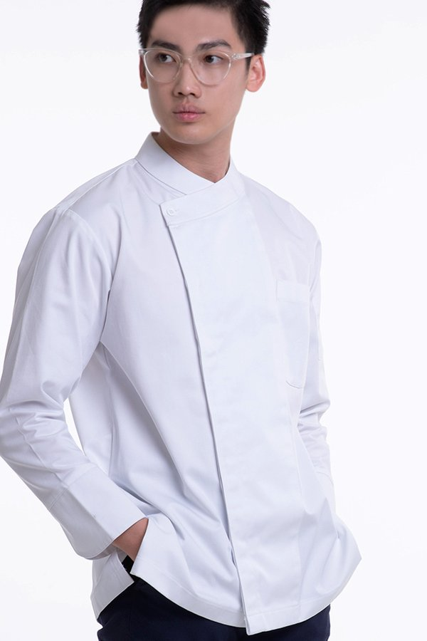 Long Sleeve Chef Jacket with French Cuff (FHE-1856)