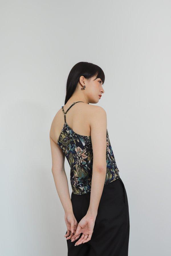 Ajuga Y-Cami Top - Floral