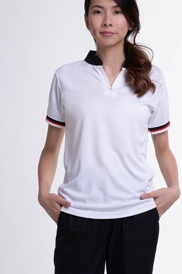 Mandarin Collar Polo T-Shirt (SEB-400)