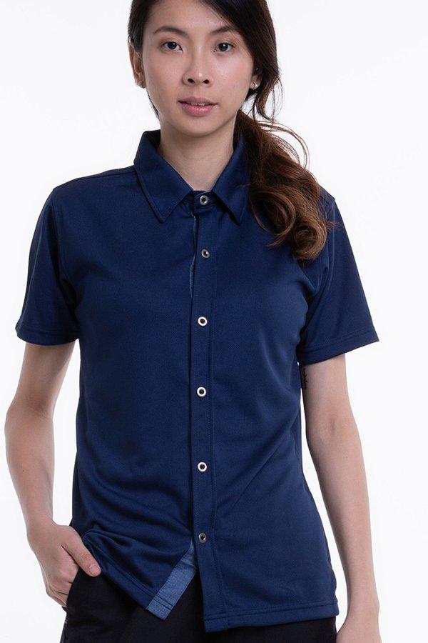 Short Sleeve Button Down T-Shirt (SEB-600)