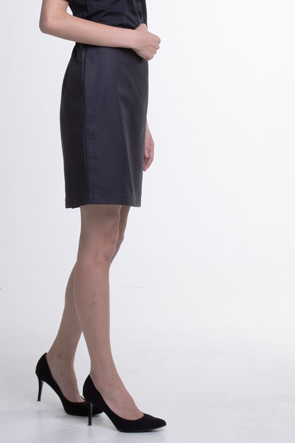 Ladies Basic Skirt (FHB-1827)