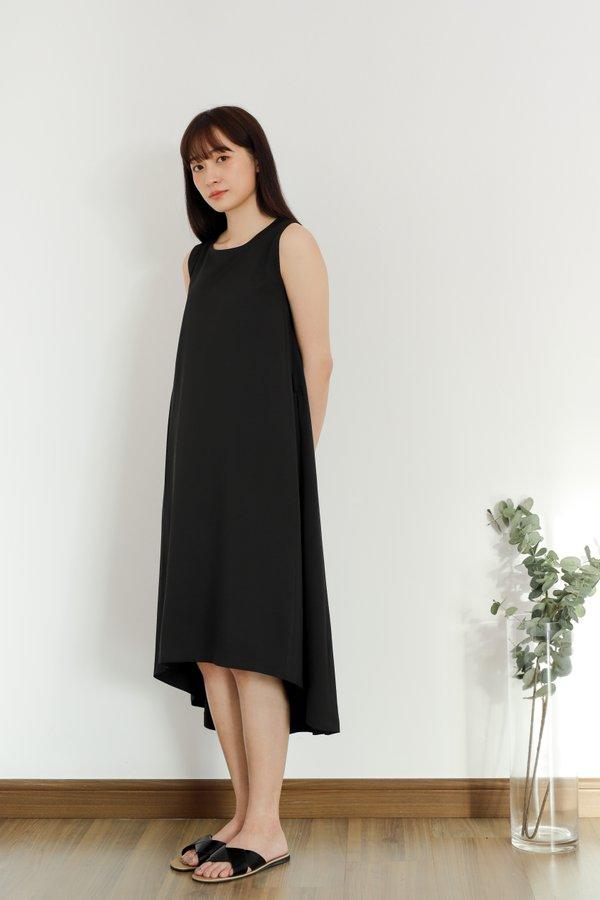Everleigh Asymmetic Hem Dress