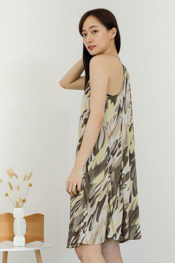 Zyanya Relaxed Summer Dress - Disco