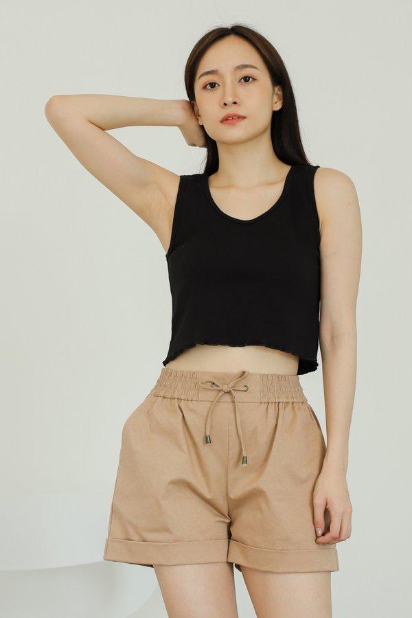 Leia Lounge Shorts - Brown